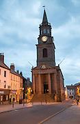 The Town Hall built 1754–60, Berwick-upon-Tweed, Northumberland, England, UK