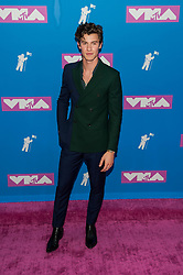 August 21, 2018 - New York City, New York, USA - 8/20/18.Shawn Mendes at the 2018 MTV Video Music Awards at Radio City Music Hall in New York City. (Credit Image: © Starmax/Newscom via ZUMA Press)