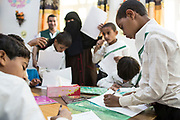 """Mcc0081437 . Daily Telegraph<br /> <br /> DT Foreign<br /> <br /> A rehabilitation centre for child soldiers in Marib run by a local NGO and with help of Saudi aid . According to UNICEF over 2000 children have been recruited to fight in Yemens civil war since 2015 .<br /> <br /> Thanks to oil revenues and close ties with Saudi Arabia Marib could be viewed almost as an oasis of normalcy in a country torn apart by civil war . Since the conflict began in 2015 the town has expanded dramatically with Yemeni's flooding in from Houthi controlled areas attracted by the relative peace and stability .<br /> <br /> Yemen has been in the midst of a civil war since 2015 when the President Abdrabbuh Mansur Hadi was forced to flee . A Saudi led coalition with 9 other Arab states  named """"Operation Decisive Storm """"  has since sought to restore Hadi with little effect .<br /> <br /> Yemen 20 February"""