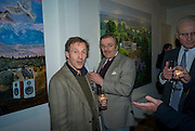 MARK WEELBY AND BARON DORIAN DE BRAAM, ' The Hours' Private view for work by Natasha Kissell. Eleven. Victoria. London. 25 March 2008.  *** Local Caption *** -DO NOT ARCHIVE-© Copyright Photograph by Dafydd Jones. 248 Clapham Rd. London SW9 0PZ. Tel 0207 820 0771. www.dafjones.com.
