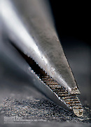 Macro photo of pliers tools