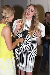 © Licensed to London News Pictures. 03/06/2014. London, England. Singer Diana Vickers. Celebrity arrivals for the Awards Show at Graduate Fashion Week 2014, Old Truman Brewery in London, United Kingdom. Photo credit: Bettina Strenske/LNP