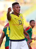 Colombia's Yerri Mina during international friendly match. June 13,2017.(ALTERPHOTOS/Acero)