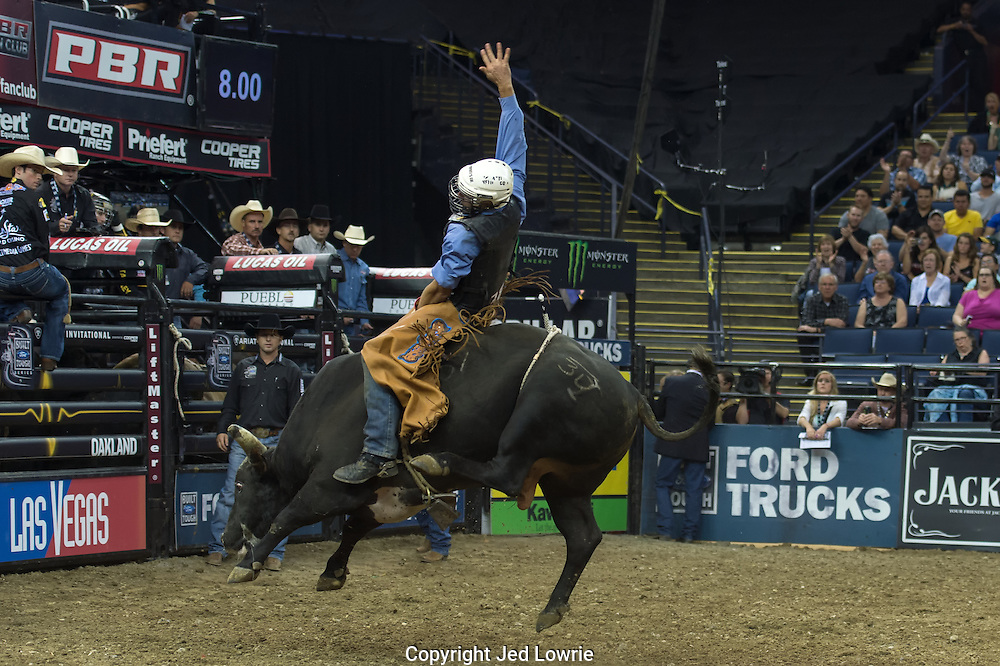 The riders strive for the 8 second ride, their score after that depends on how difficult the bull makes it on them.