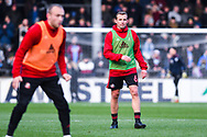 Lee Cattermole of Sunderland (6) warming up during the EFL Sky Bet League 1 match between Scunthorpe United and Sunderland at Glanford Park, Scunthorpe, England on 19 January 2019.