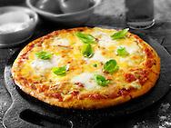 Italian Quatro Fromaggi Pizza ( 4 cheese) photo. FFunky Stock pizzas photos