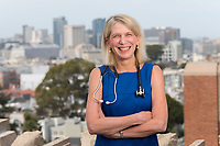 Dr. Diane Havlir at San Francisco General Hospital, Tuesday, April 4, 2017.<br /> Photo Brian Baer