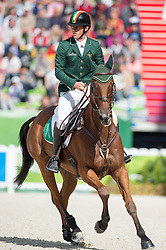 Sam Watson, (IRL), Horseware Bushman - Jumping Eventing - Alltech FEI World Equestrian Games™ 2014 - Normandy, France.<br /> © Hippo Foto Team - Jon Stroud<br /> 31-08-14