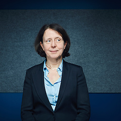 Paris, France. March 5, 2015. Barbara Dalibard, head of the traveller's division at SNCF. Photo: Antoine Doyen