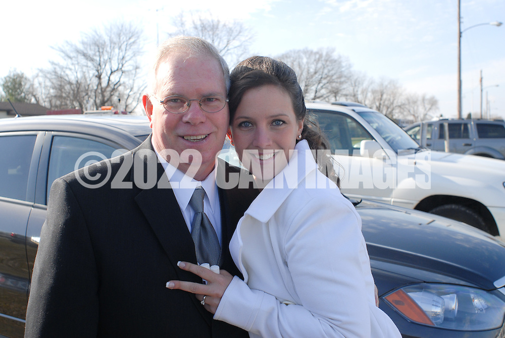 12/7/09 - 11:18:27 AM - FORTESCUE, NJ: Diana & Ken - December 7, 2009 - Fortescue, New Jersey. (Photo by William Thomas Cain/cainimages.com)