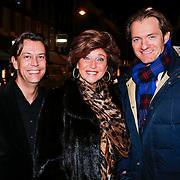 NLD/Amsterdam/20130207 - Presentatie Talkies Men 2013, Netty van der Veer, Christian Looman en partner Charles Stouten