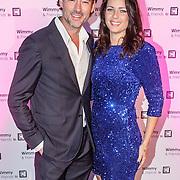 NLD/Laren/20151101 - 10de Free a Girl gala 2015, Jeroen Nieuwenhuizen en partner Tessa Korlevers