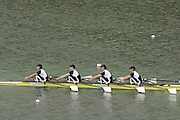 Munich, GERMANY, 2006, FISA, Rowing, World Cup, GBR W4X Bow Debbie flood, 2. Sarah Winckless, 3. Frances Houghton, stroke Kathrine Grainger. winning fridays final on the Olympic Regatta Course, Munich, Fri. 26.05.2006. © Peter Spurrier/Intersport-images.com,  / Mobile +44 [0] 7973 819 551 / email images@intersport-images.com.[Mandatory Credit, Peter Spurier/ Intersport Images] Rowing Course, Olympic Regatta Rowing Course, Munich, GERMANY
