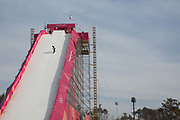 The drop-in for the ladies big air qualification during the Pyeongchang Winter Olympics 2018 on February 19th 2018, at the Alpensia Ski Jumping Centre, South Korea