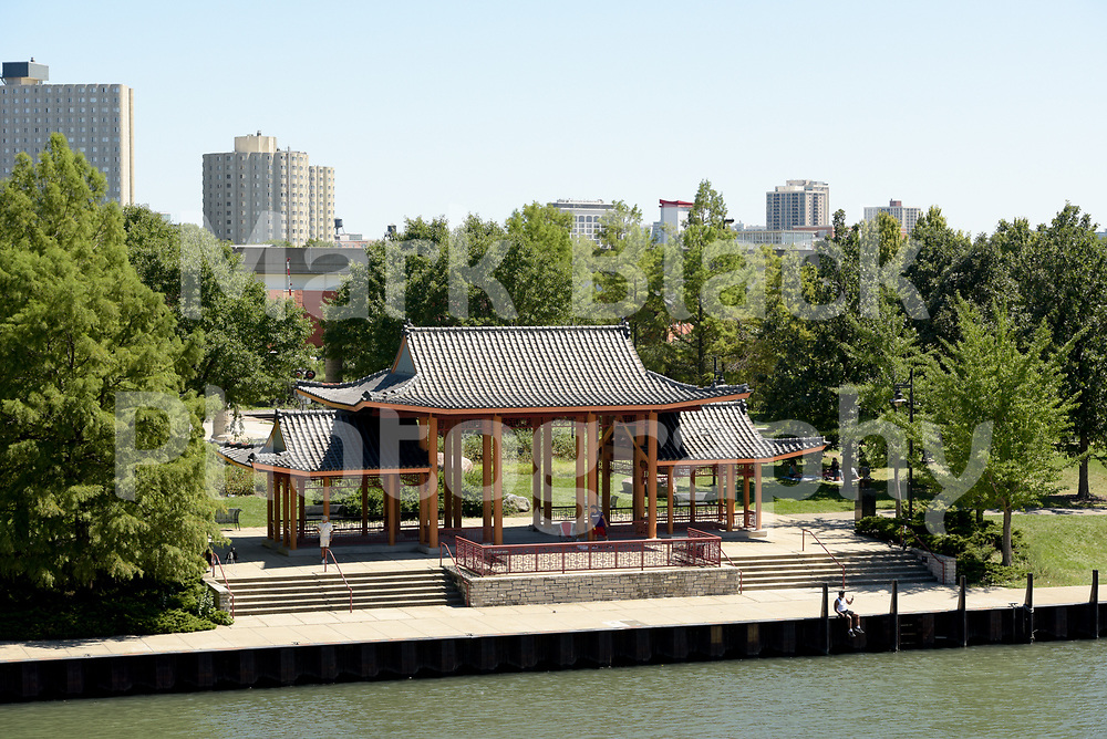 Ping Tom Memorial Park in the Chinatown neighborhood of Chicago on Wednesday, Aug. 19, 2020.  Photo by Mark Black
