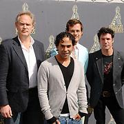 NLD/Amsterdam/20070509 - Nominatielunch Musicalawards 2007, Mannelijke Hoofdrol in een Kleine Musical, Nico de Vries, Willem-Jan Stouthart, Ivo Chundro, Daniël Boissevain