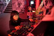 FAILE & Bast Deluxx Fluxx Arcade at Summerhall, Edingburgh Festival 2014.