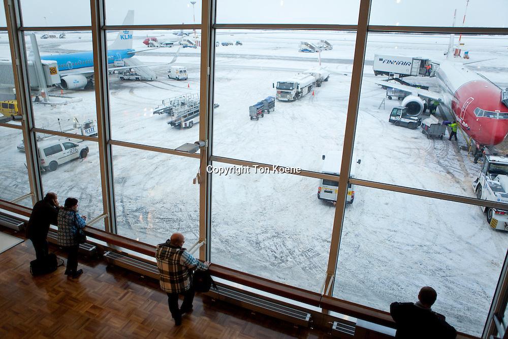 Helsinki airport in FInland