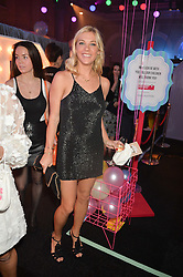CHELSY DAVY at The Naked Heart Foundation's Fabulous Fund Fair hosted by Natalia Vodianova and Karlie Kloss at Old Billingsgate Market, 1 Old Billingsgate Walk, London on 20th February 2016.