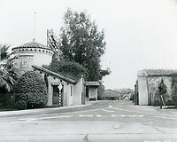 1928 Fox Movietone Studios in West Los Angeles
