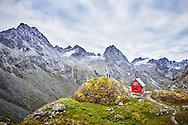 The Mint Hut near Hatcher Pass, Alaska