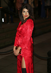 February 18, 2019 - London, United Kingdom - Ruby Bhogal attends the Fabulous Fund Fair as part of London Fashion Week event. (Credit Image: © Brett Cove/SOPA Images via ZUMA Wire)