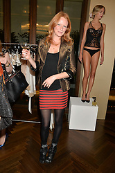 OLIVIA INGE at a party to celebrate the 15th anniversary of Myla held at the House of Myla, 8-9 Stratton Street, London on 21st October 2014.