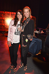"""Bella Freud and Eva Herzigova at """"Hoping For Palestine"""" Benefit Concert For Palestinian Refugee Children held at The Roundhouse, Chalk Farm Road, England. 04 June 2018."""