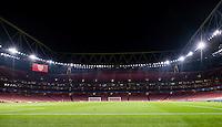 2016.11.23.London<br /> Pilka Nozna Liga Mistrzow sezon 2016/2017<br /> Arsenal vs PSG<br /> n/z widok ilustracja stadion<br /> foto Sebastain Frej \ PressFocus <br /> <br /> 2016.11.23.London<br /> Football UEFA Champions League <br /> season 2017/2017<br /> Arsenal vs PSG<br /> n/z Emirates Stadium view<br /> foto Sebastain Frej \ PressFocus