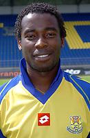 Fotball<br /> Frankrike 2004/05<br /> FC Gueugnon<br /> 27. juli 2004<br /> Foto: Digitalsport<br /> ALEXIS M'GAMBI