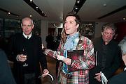 NEIL TENNANT; RUFUS WAINWRIGHT, Prima Donna opening night. Sadler's Wells Theatre, Rosebery Avenue, London EC1, Premiere of Rufus Wainwright's opera. 13 April 2010