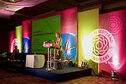 Photograph of a CIPFA conference event in Edinburgh