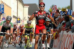 08.07.2011, AUT, 63. OESTERREICH RUNDFAHRT, 6. ETAPPE, HAINBURG-BRUCK AN DER LEITHA, im Bild der Etappensieger Greg Van Avermaet, (BEL, BMC Racing Team) // during the 63rd Tour of Austria, Stage 6, 2011/07/08, EXPA Pictures © 2011, PhotoCredit: EXPA/ S. Zangrando