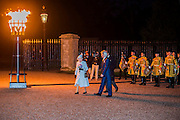 The Queen and The Duke of Edinburgh light a Beacon at Windsor Castle as part of chain of signals to mark VE Day 70 commemorations . Three days of events in London and across the UK to mark the historic anniversary of end of the Second World War in Europe - include a Service of Remembrance at the Cenotaph, a concert in Horse Guards Parade, a Service of Thanksgiving at Westminster Abbey, a parade of Service personnel and veterans and a flypast.