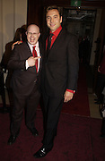 Matt Lucas and David Walliams. GQ Men Of The Year Awards at the Royal Opera House, London. September 6, 2005 in London, England, ONE TIME USE ONLY - DO NOT ARCHIVE  © Copyright Photograph by Dafydd Jones 66 Stockwell Park Rd. London SW9 0DA Tel 020 7733 0108 www.dafjones.com