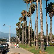 Reis Amerika, Santa Barbara boulevard straat