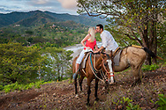 Horseback riding in Guanacaste Costa Rica.