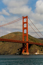 San Francisco: Golden Gate Bridge and Marin Headlands. Photo 15-casanf78167. Photo copyright Lee Foster.