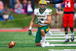NORMAL, IL - October 05:  Christian Watson during a college football game between the ISU (Illinois State University) Redbirds and the North Dakota State Bison on October 05 2019 at Hancock Stadium in Normal, IL. (Photo by Alan Look)