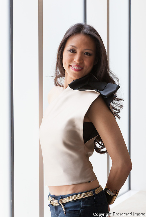 Portrait of Architect Dara Huang, London , 2013