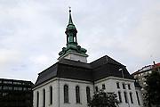 Historic Nykirken church, city of Bergen, Norway Bergen, Norway