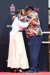 HOLLYWOOD, CA - NOVEMBER 27: Atmosphere, at Quincy Jones Hand And Footprint Ceremony at TCL Chinese Theatre IMAX in Hollywood,California on November 27, 2018,. 27 Nov 2018 Pictured: Quincy Jones, Rashida Jones. Photo credit: MPIFS/Capital Pictures / MEGA TheMegaAgency.com +1 888 505 6342