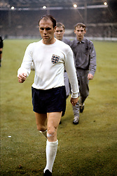 England's Ray Wilson leaves the pitch after his team's 2-0 win