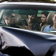 Fair City Eps 110<br /> TX: Wednesday 10  July, 2013<br /> Callum realising he has messed up begin to panic<br /> L-R<br /> Callum - Sean Doyle<br /> Charlotte - Martha Fitzpatrick<br /> Rachel - Niamh Quirke<br /> Doug - Wesley Doyle