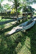 Village on Murik Lake, Papua New Guinea<br />