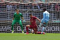 Gol di Balde Diao Keita Lazio. Goal celebration.<br /> Roma 30-04-2017  Stadio Olimpico<br /> Campionato Serie A, <br /> AS Roma - Lazio<br /> Foto Antonietta Baldassarre / Insidefoto