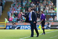 Manager of Reading Nigel Adkins during the Skybet championship match, Yeovil Town v Reading at Huish Park in Yeovil on Saturday 31st August 2013. <br /> Picture by Sophie Elbourn, Andrew Orchard sports photography,