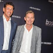 NLD/Amsterdam/20161010 -  Premiere De Verleiders: Slikken en Stikken, Hans Cornelissen en partner Ton Backer
