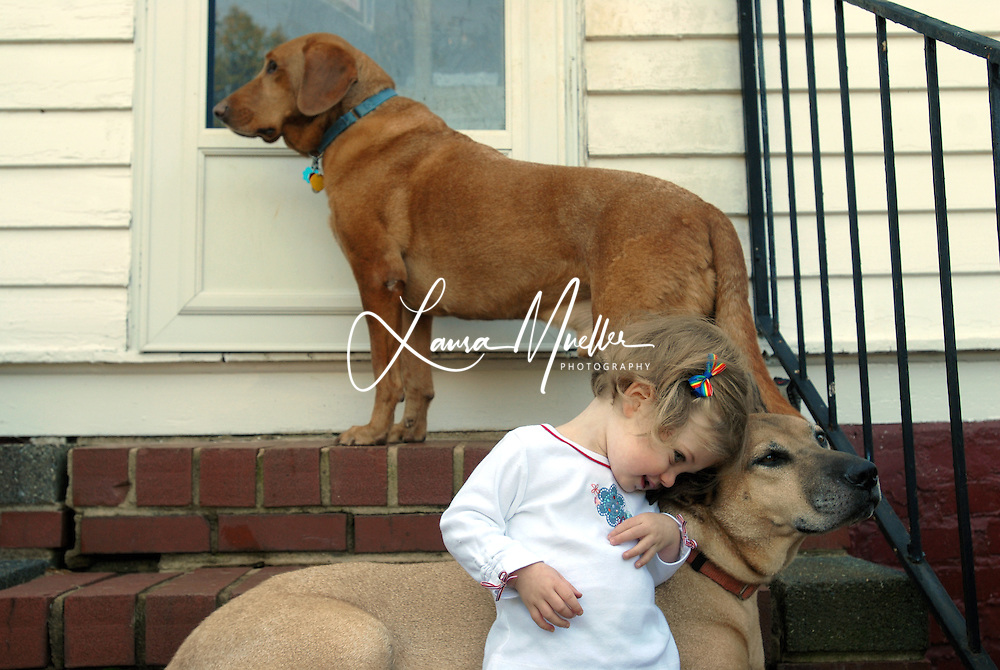 10/22/09 Kathryn and Ruby. © Laura Mueller