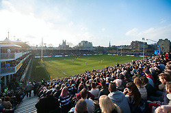 A general view of the Recreation Ground during the match - Mandatory byline: Patrick Khachfe/JMP - 07966 386802 - 18/02/2017 - RUGBY UNION - The Recreation Ground - Bath, England - Bath Rugby v Harlequins - Aviva Premiership.